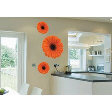 Foto Gerbera Trio Wall Decal