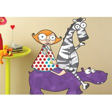 Ludo Louison and Friends Wall Decal
