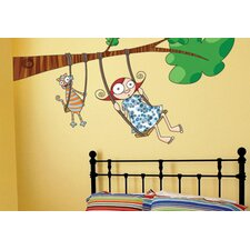 Ludo Louison Swing Wall Decal