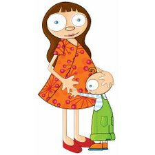 Ludo Mom and Sonny Wall Decal