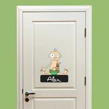 Ludo Door Sign - BabyBoy Window Sticker
