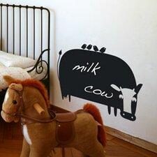 Memo Cow Chalkboard Wall Decal
