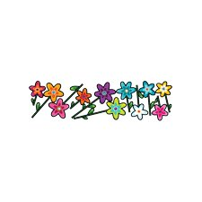 Ludo Wild Flowers Wall Decal