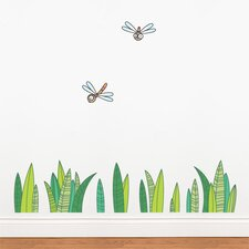 Ludo Grass Wall Decal