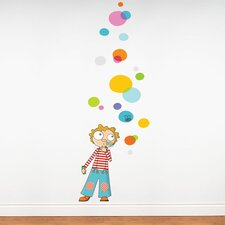 Ludo Bubbles Wall Decal