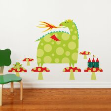 Piccolo Country Dragon Wall Decal