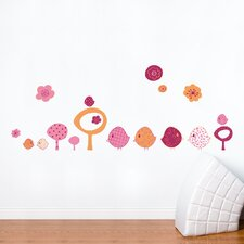 Piccolo Chicks Wall Decal