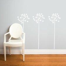 Spot Fire-Flowers Wall Decal