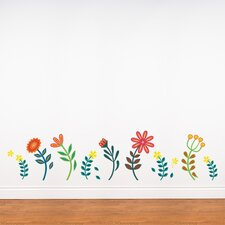 Spot Blooming Flowers Wall Decal