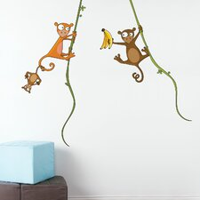 Ludo Kiki's Family Wall Decal