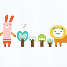 Piccolo Forest Friends Wall Decal