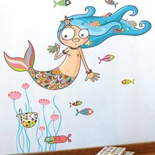 Ludo The Mermaid Wall Decal