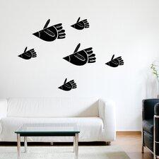 Spot Bird Fish Wall Decal
