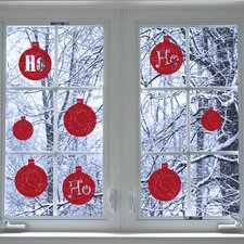 Christmas Ho Ho Ho Window Sticker