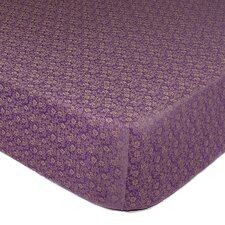 Dahlia Fitted Crib Sheet