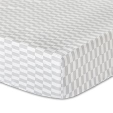 Mosaic Fitted Crib Sheet