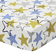 Stargazer Fitted Crib Sheet