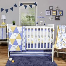 Stargazer 4 Piece Crib Bedding Set