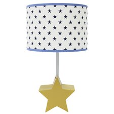 "Stargazer 15"" Table Lamp with Drum Shade"