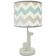 """Uptown Giraffe 20"""" Table Lamp Drum Shade"""