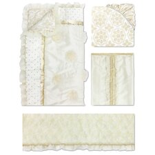 Juliet 4 Piece Crib Bedding Set