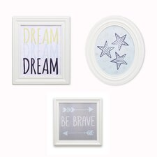 3 Piece Gallery Frame Art Set