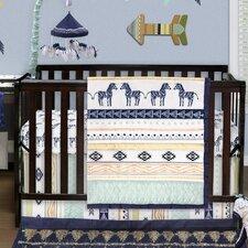 Indio 4 Piece Crib Bedding Set