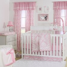 Demure in Damask 4 Piece Crib Bedding Set