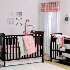 A Tribe Called Cute 4 Piece Crib Bedding Set