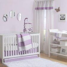 Tri-Style 4 Piece Crib Bedding Set