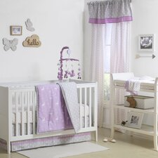 Hello Deer 4 Piece Crib Bedding Set