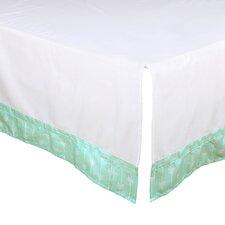 Arrow Print Tailored Crib Dust Ruffle