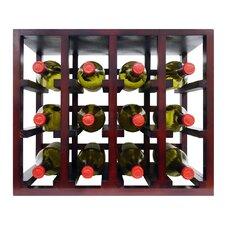 12 Bottle Tabletop Wine Rack