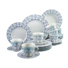 Borkum Indian Blue 30 Piece Dinnerware Set