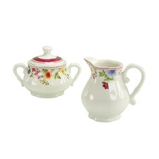 Cornwall Garden Sugar and Creamer Set