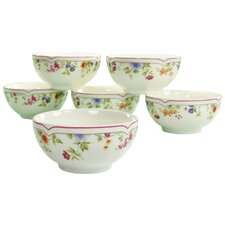 Cornwall Garden Muesli Bowl (Set of 6)