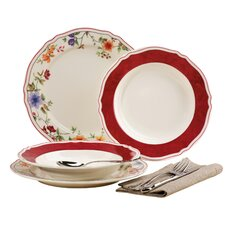 Cornwall Garden 12 Piece Porcelain Dinnerware Set