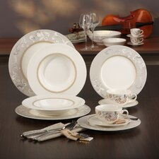 Palacio 30 Piece Porcelain Dinnerware Set
