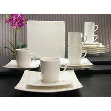 18-tlg. Kaffeeservice Pure aus Porzellan