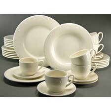Cora 30 Piece Dinnerware Set
