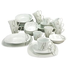 Amelie Piazza 42 Piece Dinnerware Set