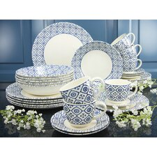 Oriental 30 Piece Dinnerware Set