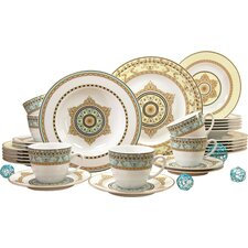 Majestosa 30 Piece Porcelain Dinnerware Set