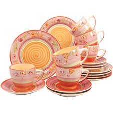 Viva 18 Piece Coffee Set