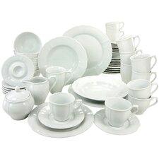 Flora 50 Piece Dinnerware Set