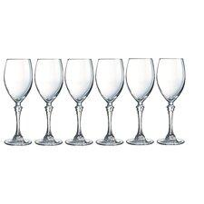 6-tlg. Weißweinglas Poetic
