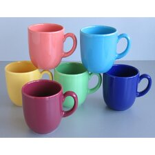 6-tlg. Kaffeebecherset Top Colours