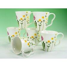 Kaffeebecher Set Eva Wiesenblumen