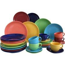 30-tlg. Kombiservice Top Colours aus Porzellan