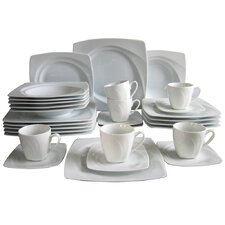 Celebration 30 Piece Porcelain Dinnerware Set